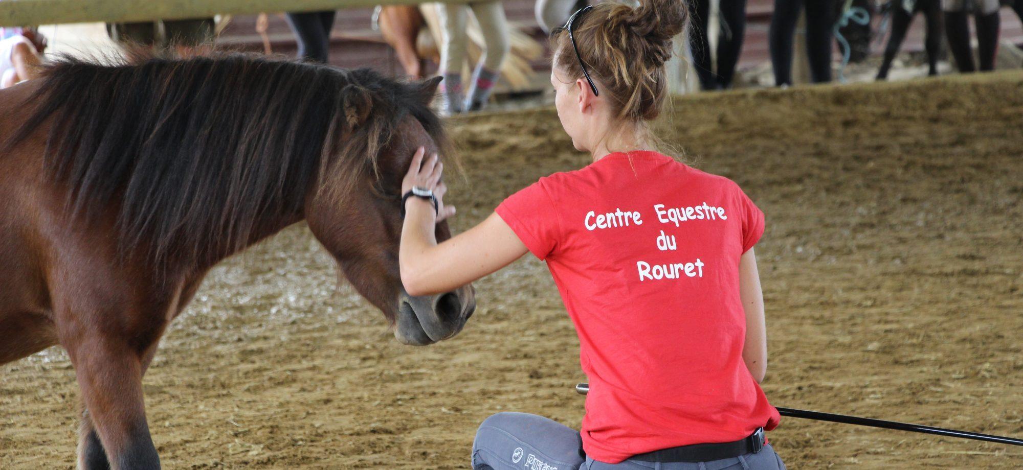 cours déquitation Centre Equestre du Rouret